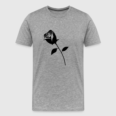 Rose Black Gift - Men's Premium T-Shirt
