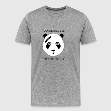 Tough Panda - Men's Premium T-Shirt