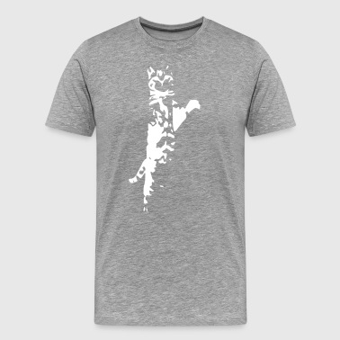 Standing Cat - Men's Premium T-Shirt