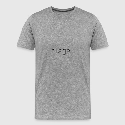 Original Plage Logo - Men's Premium T-Shirt