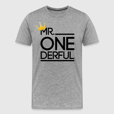 Mr. Wonderful - Men's Premium T-Shirt