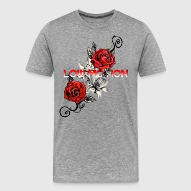 Low Motion Flower - Men's Premium T-Shirt