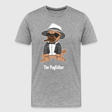Pugfather - Premium T-skjorte for menn