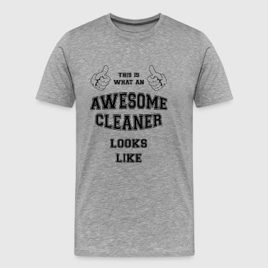 AWESOME CLEANER - Premium-T-shirt herr