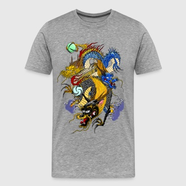 3 dragons - Men's Premium T-Shirt