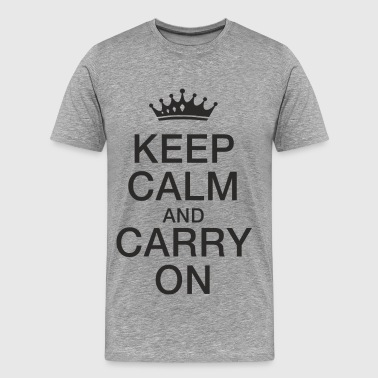 Keep calm - T-shirt Premium Homme