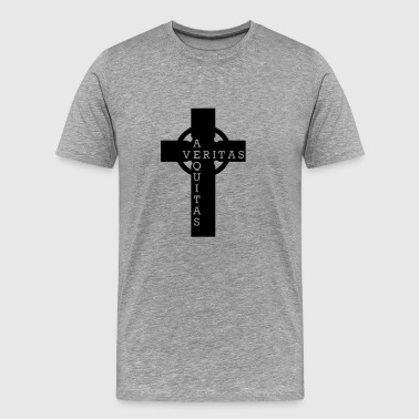 Cross out of the bloody path of God - Men's Premium T-Shirt