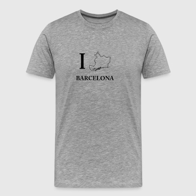 I Love Barcelona Spain España Barca Home Shirt - Men's Premium T-Shirt