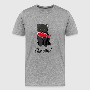 then chat - Men's Premium T-Shirt