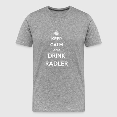 drink cyclist / / beer / soda / drinks party - Men's Premium T-Shirt