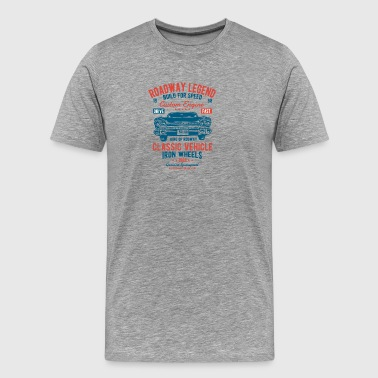 Roadway Legend 2 2 - Men's Premium T-Shirt