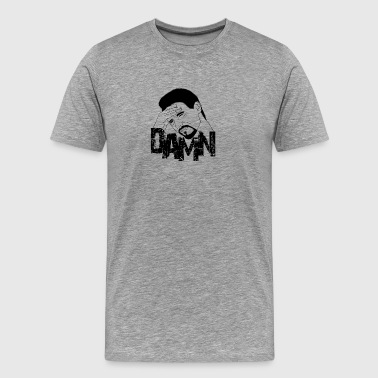 Damn Face - Premium T-skjorte for menn