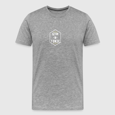 GYM N TONIC - Herre premium T-shirt