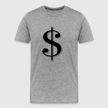6061912 121813055 Dollars - Men's Premium T-Shirt