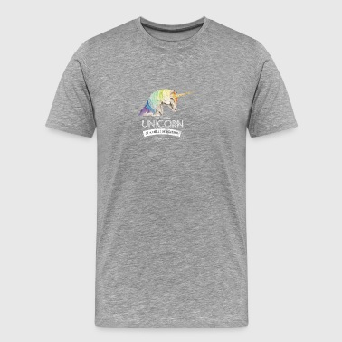 Unicorn Birthday 1985 Born - Men's Premium T-Shirt