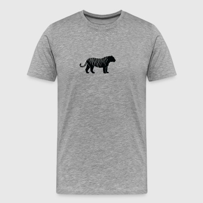 A Tiger-hunting - Men's Premium T-Shirt