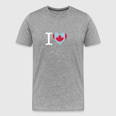 I Love Canada - Men's Premium T-Shirt