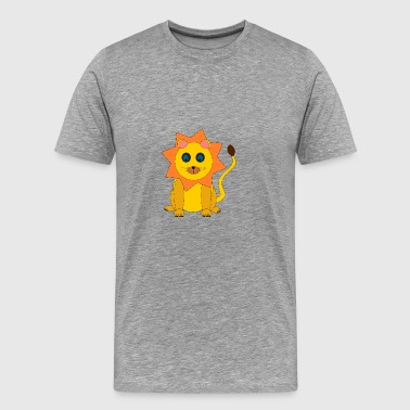 Sweed yellow Babylion - Men's Premium T-Shirt