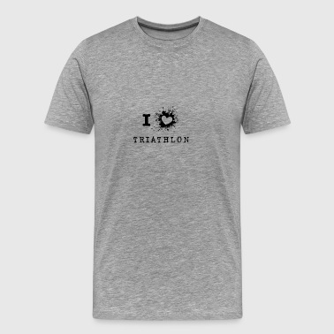 ILove Triathlon - Men's Premium T-Shirt