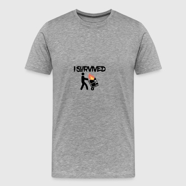 I survived 2018 - Men's Premium T-Shirt