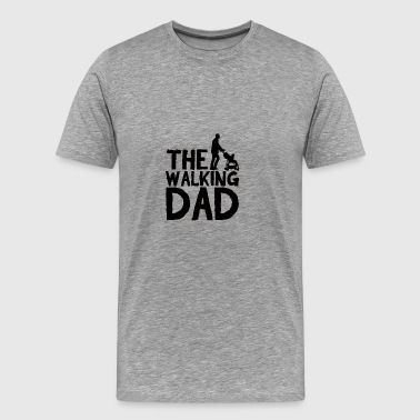 Vatertag: The Walking Dad - Männer Premium T-Shirt