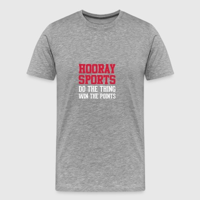 Football Hooray Sport - Men's Premium T-Shirt