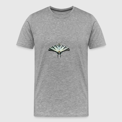 butterfly, butterfly - Herre premium T-shirt