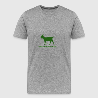 Goat / farm: Goat Whisperer - Premium T-skjorte for menn