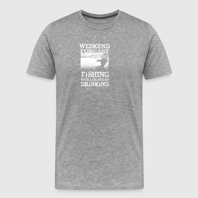 Weekend Forcast - Premium-T-shirt herr