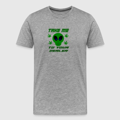 take me to yer dealer - Men's Premium T-Shirt