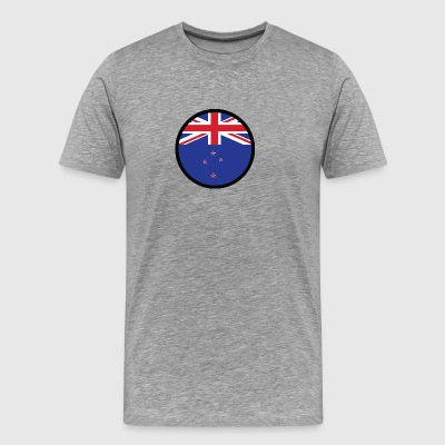 Marked By New Zealand - Men's Premium T-Shirt