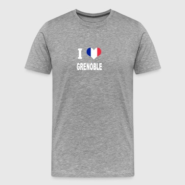 I Love GRENOBLE - Men's Premium T-Shirt