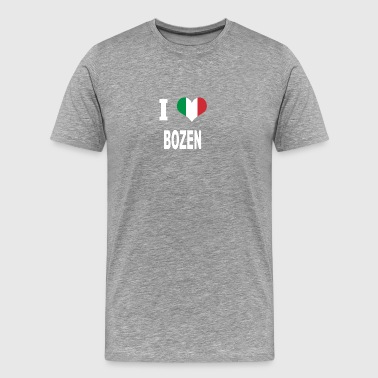 I Love Italy BOZEN - Men's Premium T-Shirt