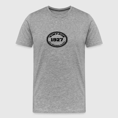 Birth year 1927 - Men's Premium T-Shirt