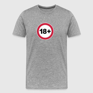 18th / 18th birthday. / 18+ - Men's Premium T-Shirt