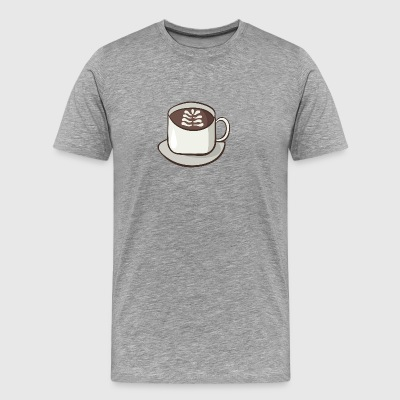 cappuccino - T-shirt Premium Homme