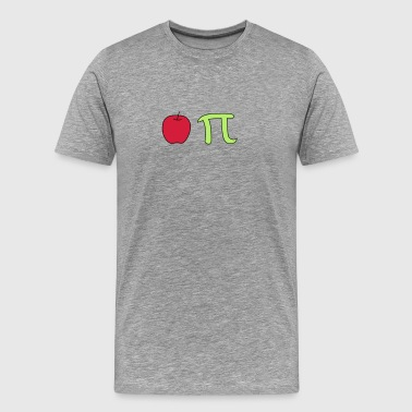 Apple PI - Premium T-skjorte for menn