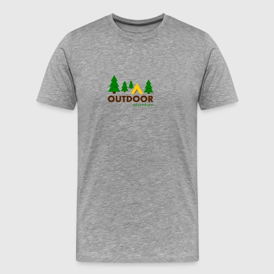 Outdoor Adventure Camping - Men's Premium T-Shirt