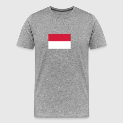 National Flag Of Indonesia - Herre premium T-shirt