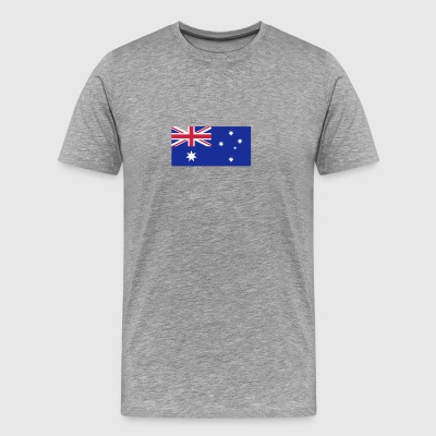 National Flag Of Australia - Men's Premium T-Shirt