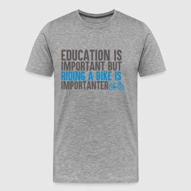 Bike Education - Männer Premium T-Shirt