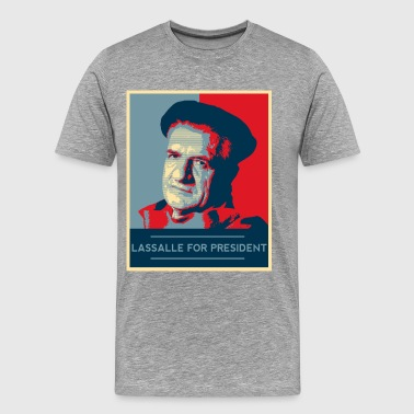 Lassalle-Obama For President - T-shirt Premium Homme