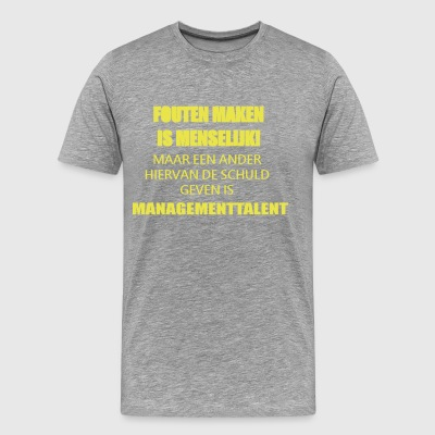 Talent management - Premium-T-shirt herr