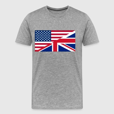 USA UK - T-shirt Premium Homme