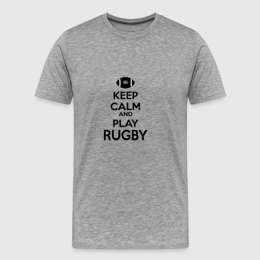 6061912 126532859 rugby - Men's Premium T-Shirt