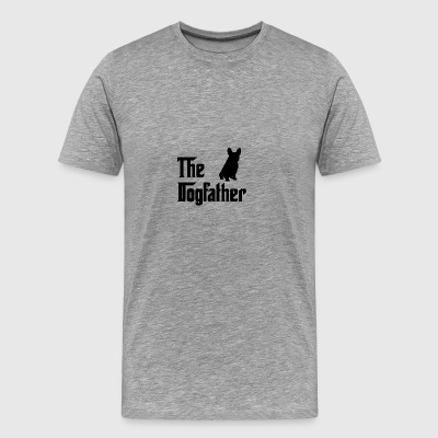Den Dogfather Black - Herre premium T-shirt