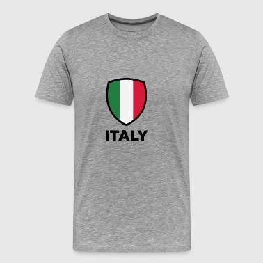 National Flag Of Italy - Herre premium T-shirt