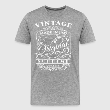 Vintage Made in 1947 Original - Männer Premium T-Shirt