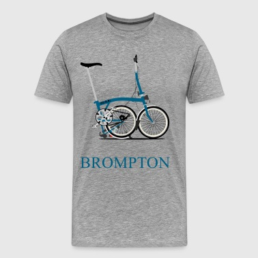 Brompton Folding Bike - Men's Premium T-Shirt