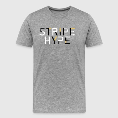 stripe hype - Premium T-skjorte for menn